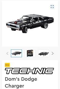 Lego technic Dom's Dodge Charger fast&furious