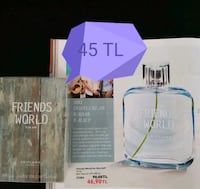 Oriflame friends world bay parfüm 75 ml.  Pazaryeri Mahallesi, 48300