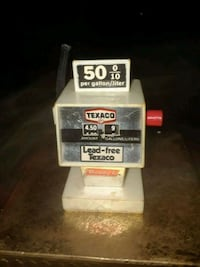 VINTAGE BUDDY L TEXCO GAS PUMP PLASTIC COLLECTABLE 1980S  Providence