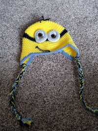Child's minion hat