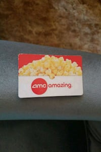 $15 AMC gift card Redlands, 92374