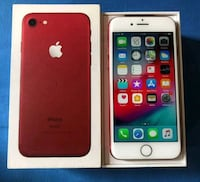 iPhone 7 256 gig Project red  Brampton, L7A 2M6