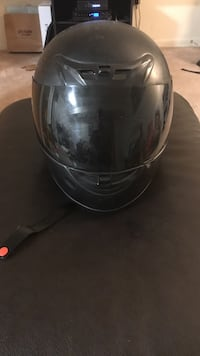 black full-face motorcycle helmet Annandale, 22003
