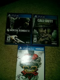 Ps4 games  Winnipeg, R2G 3T6