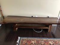Massive solid wood table SILVERSPRING