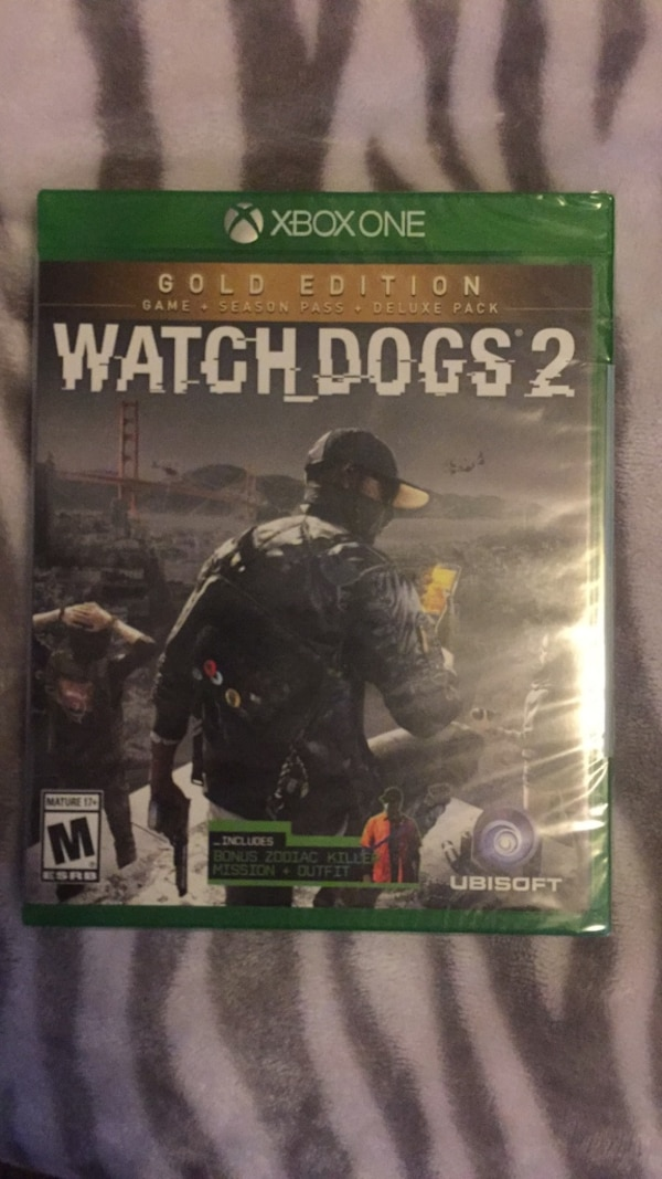 Watch dogs 2 GOLD edition *SEALED*