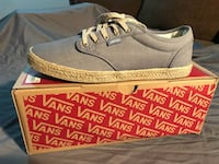 Pair of light blue vans low-top sneakers Elk Grove, 95757