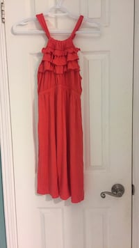 Women's red sleeveless dress 469 km