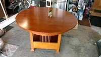 China cabinet ,round table with leaf (4) chairs Elmhurst