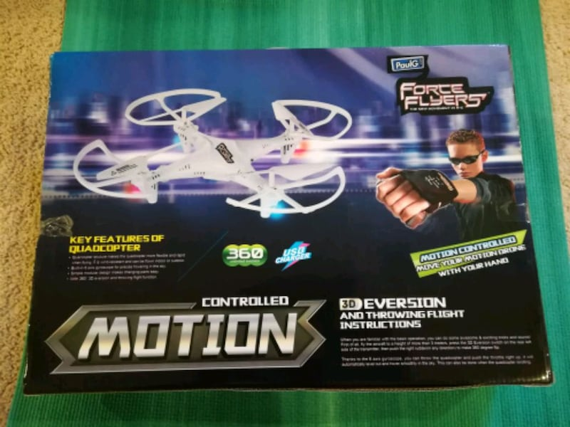 Motion controlled FPV drone toy gift 0