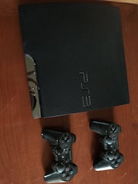 Nero sony ps3 slim con due controller Peschiera del Garda, 37019