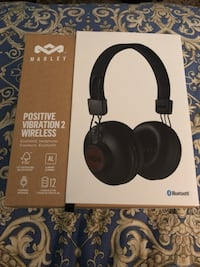 House of Marley Positive Vibrations 2 Wireless Bluetooth headphones unopened  Mississauga, L5W 1H7