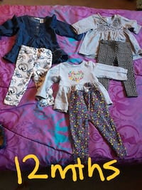 girl's assorted clothes Indio, 92201