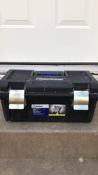 black Kobalt tool box