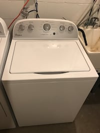 Used White Whirlpool Top Load Clothes Washer For Sale In