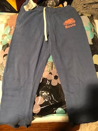 Great condition Pastel Blue Roots thick sweatpants  Markham, L3R 6P3