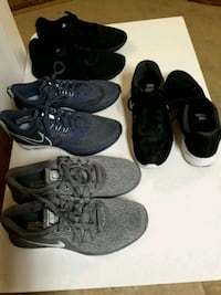 pair of black-and-white Nike running shoes Hagerstown, 21742