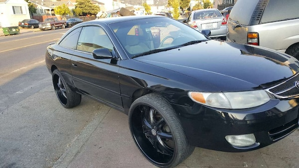 Used Toyota Solara 01 On 24s For Sale In Oakland Letgo