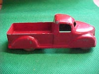 Old London Toy Pickup Trucks # 12 Made In Canada Blue Red LONDON