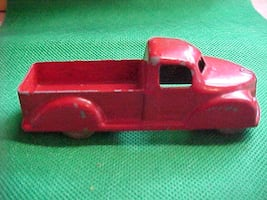 Old London Toy Pickup Trucks # 12 Made In Canada Blue Red