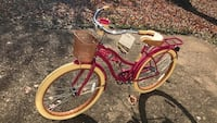 Pink Huffy Cruiser Bike Bowie