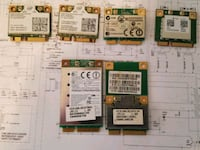 Laptop Wifi and wifi bluetooth cards  Vancouver, 98662