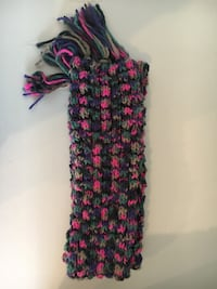 "Knit scarf, 78"" long Arlington Heights"