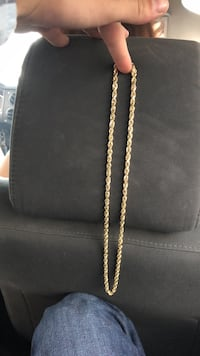 10k solid gold rope. Price NEGOTIABLE