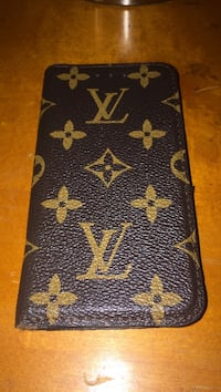 black and brown Louis Vuitton leather wallet Chesapeake, 23322