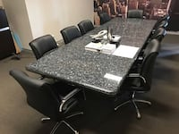 Granite Boardroom/Conference Table TORONTO