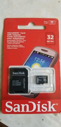 black and gray SanDisk SD card Regina, S4N 1T7