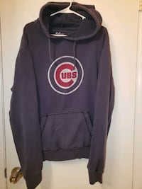 Chicago Cubs vintage style blue hoodie Des Moines