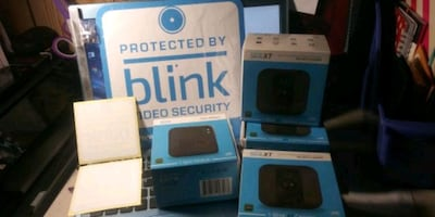 Security system Wireless protected by Blink 3 secu