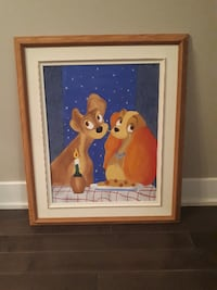 Disney Lady and The Tramp poster STRATFORD