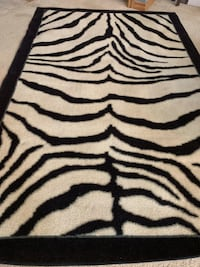 Zebra Floor Area Rug Oklahoma City, 73142