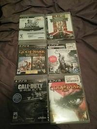 six assorted PS3 game cases Roanoke, 24012