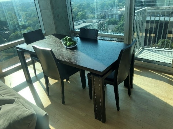 Used Dining Room Set Table Chairs Bench For Sale In Atlanta