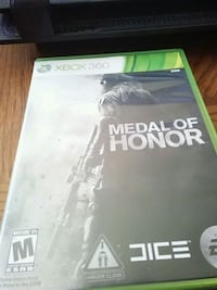 Medal of honor x box 360 game Lewiston, 04240