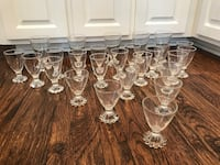 Boopie Clear by Anchor Hocking 39 Pieces