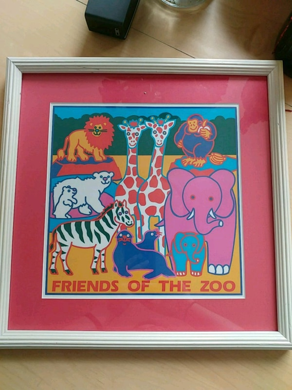 Friends of the zoo artwork