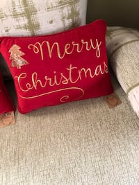 To Christmas pillows boat is $50 handmade Alexandria, 22315