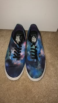 pair of blue Vans low-top sneakers Fairfax, 22030
