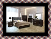 B120 11pc bedroom set with mattress Ashburn