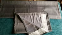 Two tone grey IKEA curtains - pu in north Langley  Langley, V1M 3C5