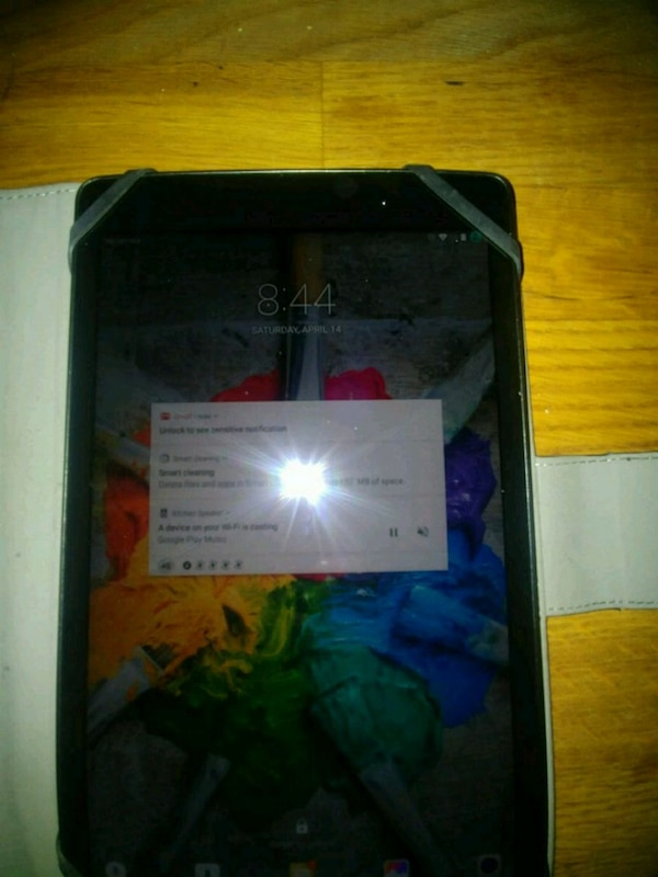 Lg gpad 3 8.0 16gb with leather case