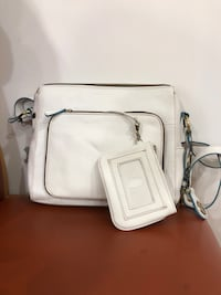 White leather 2-way handbag Wilkes-Barre, 18702