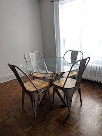 Dining Table and Chairs Toronto, M6P 1K6