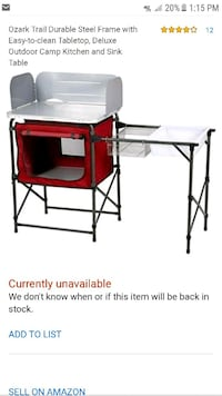 New Camping portable kitchen  Germantown, 20874