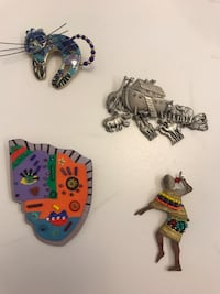 Assorted Fun pins, $6 each  Alexandria, 22301