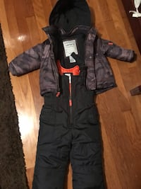 18m Carter's coat/snow pants set
